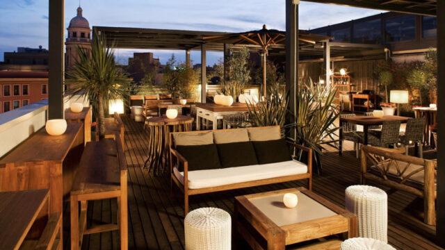 Hotel Pulitzer : The Pulitzer Terrace