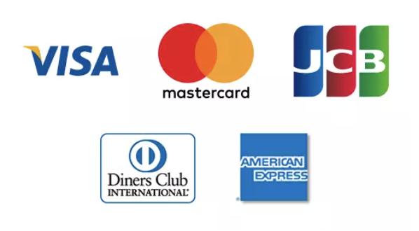 5 major credit cards