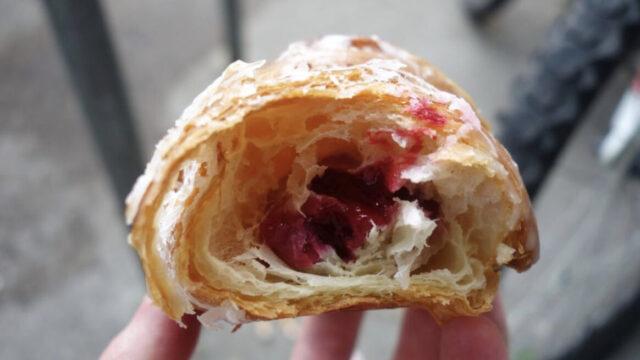 croissant raspberry