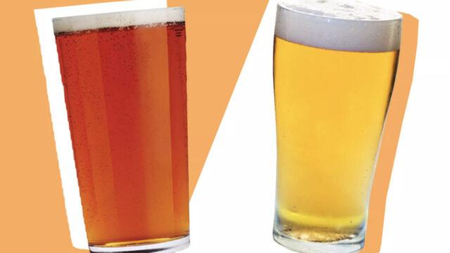 Ale beer Lager beer