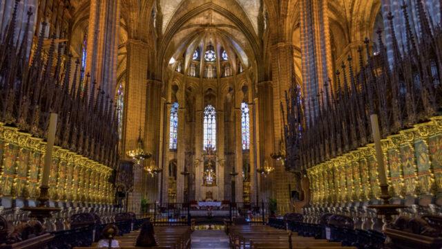 Santa Eularia Cathedral interior