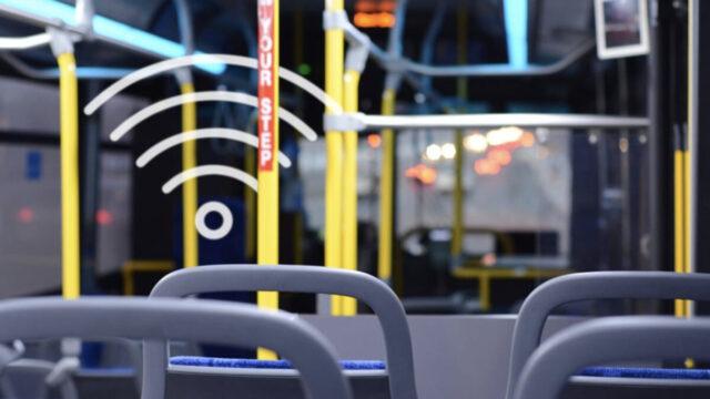 WiFi-public transport