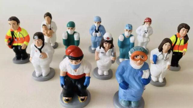 caganer 2020 medicos
