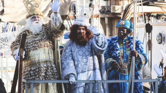 reyes de magos de la mer