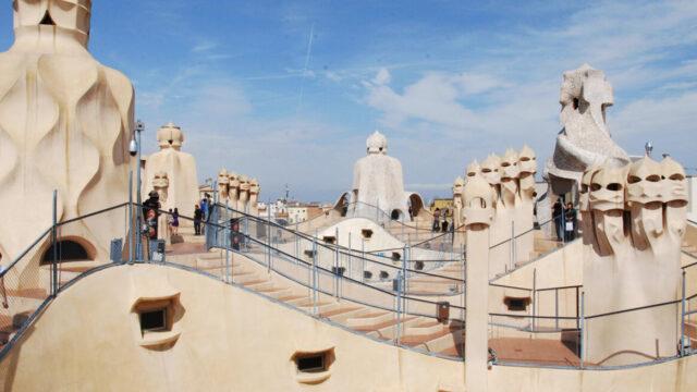 Casa Mila rooftop