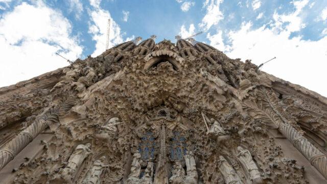 facada Sagrada Familia