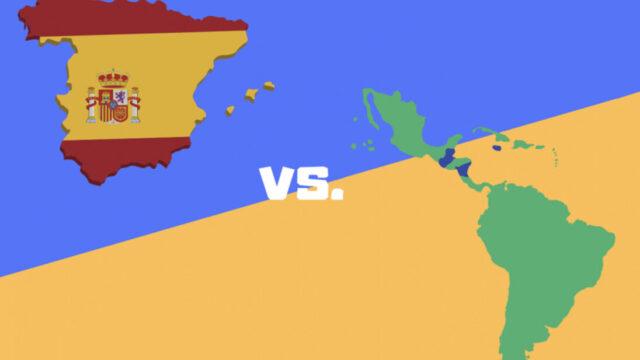 spain vs latin spanish